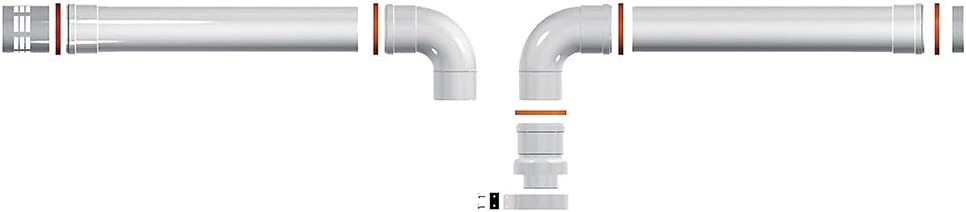 Ariston 3318370 Sdoppiato Ariston Kit de Desagüe Para Las Calderas de Condensación