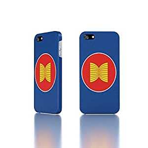 Apple iPhone 5 / 5S Case - The Best 3D Full Wrap iPhone Case - Asean Flag