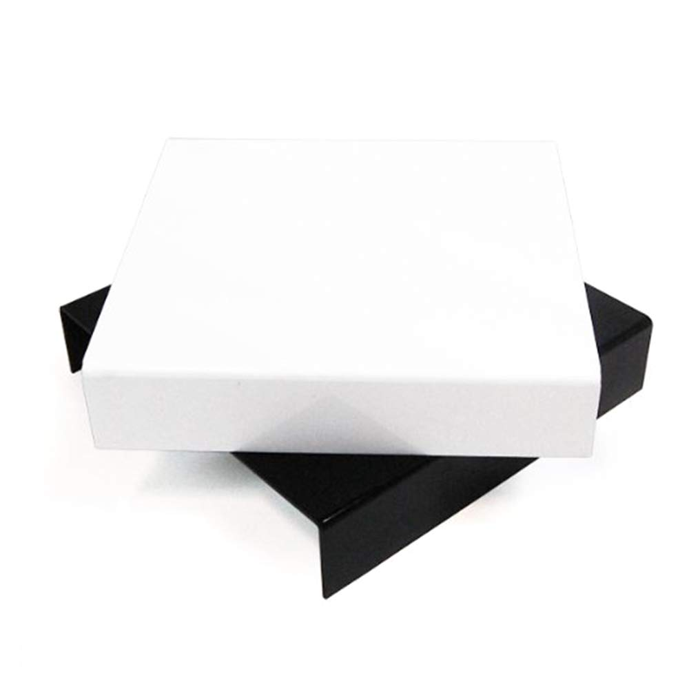 LimoStudio Table Top Black & White Acrylic Reflective Display Table kit for Product Photography, AGG838 by LimoStudio