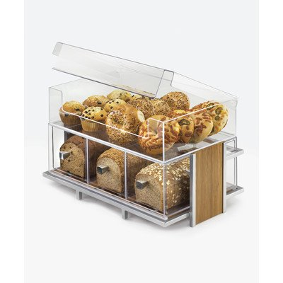 Cal-Mil 1471 Eco Modern Merchandiser Large, 21'' Width x 13'' Depth x 8'' Height, Clear by Cal Mil