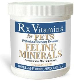 Rx Vitamins for Pets - Feline Minerals Powder 227 g by Rx Vitamins For Pets