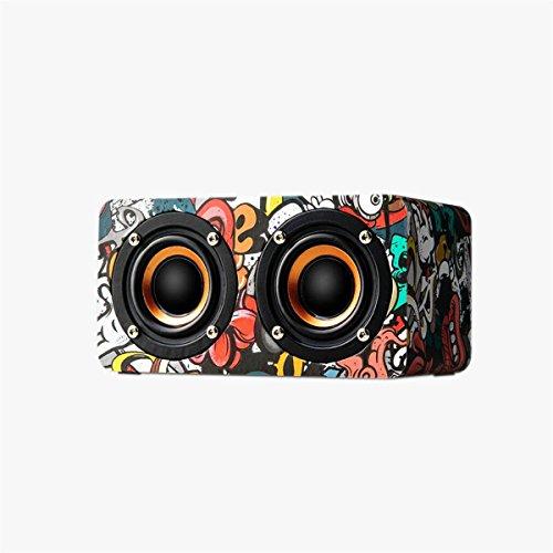 Wireless Bluetooth Speaker - Retro Bluetooth Speak...