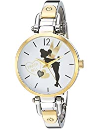 Women's 'Tinker Bell' Quartz Metal and Alloy Casual Watch, Color:Two Tone (Model: WDS000065)