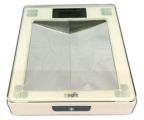 Insight 1380 Digital Bathroom Scale for Diabetic Foot Care, illuminated mirrors