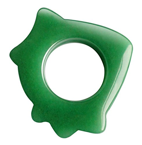 a Scraping Massage Tool, Hand Made Great Guasha Tools for ASTYM,Graston & Myofascial Release,Reduce Muscles Soreness,Relax Joints & Trigger Point Treatment (Massage Ring) (Heavy Jade Ring)