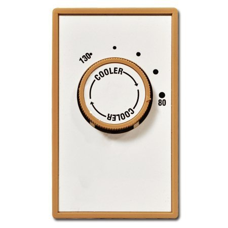 Systemair FAT10 Attic Thermostat, 80 - 130 Degree, 115V/22A by Systemair ()