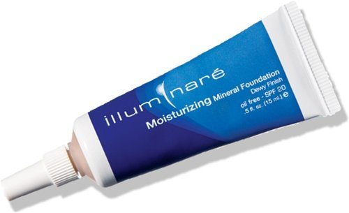 Illuminare Mineral Makeup - Illuminare Moisturizing Mineral Foundation Makeup SPf 20 Dewy Finish 15ml (Portofino Porcelain)