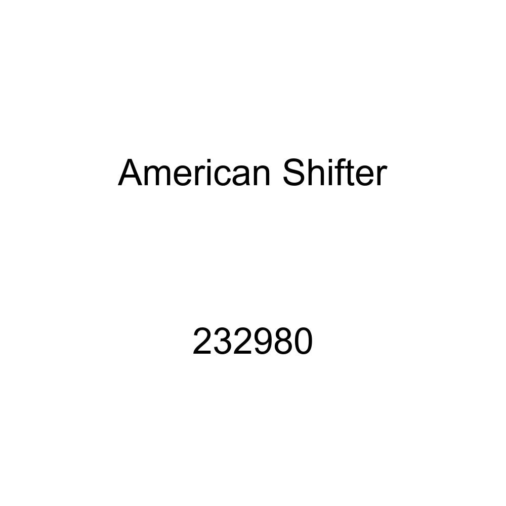 American Shifter 232980 Clear Flame Metal Flake Shift Knob with M16 x 1.5 Insert Black Officer 03