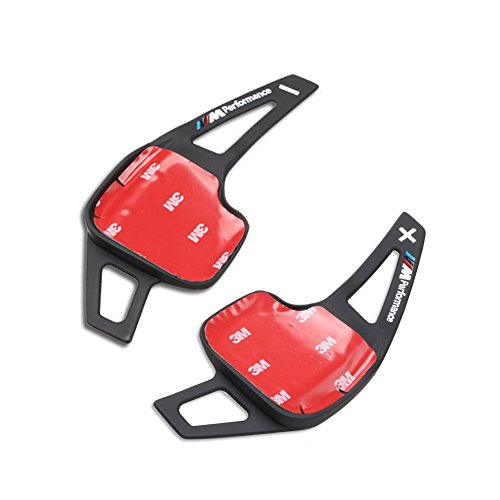 2pcs ///M Aluminum Metal Paddle Shift Shifter Extension for BMW 3 Series 5 Series F10 F30 F18 Universal