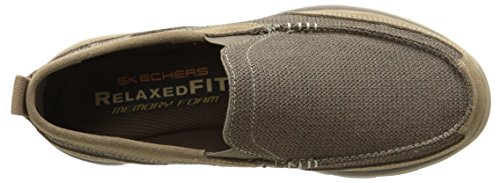 Skechers Usa Mens Mocassino Milford Slip-on Marrone Chiaro