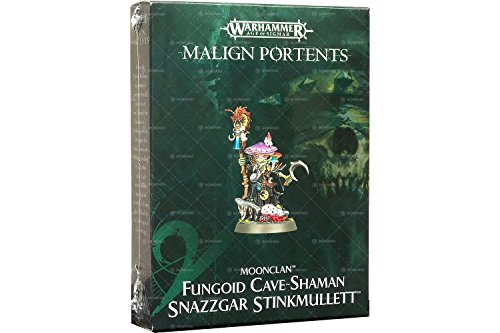 Games Workshop Warhammer Age of Sigmar: Fungoid Cave-Shaman Snazzgar Stinkmullett Malign Portents