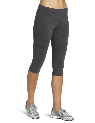 Spalding Women's Capri Legging, Charcoal, Large Capri Yoga Pants