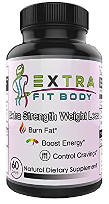 Natural Fat Burner Supplement for Women - Boost Fat Loss & Lose Belly Fat Fast - Metabolism Booster and Appetite Suppressant - Extra Strength Weight Loss Supplement for Stomach Fat - 60 Pills