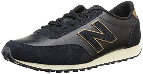 New Balance U410 D, Sneakers unisex Violett(Azul / amarillo)
