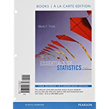 Essentials of Statistics Books a la carte Plus NEW MyStatLab with Pearson eText -- Access Card Package (5th Edition)