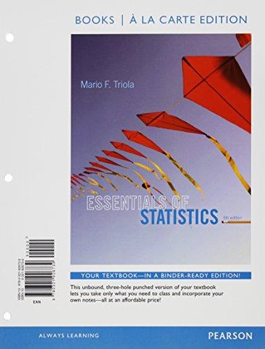 Essentials Of Stat.(Ll) W/Access+Cd