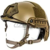 Lancer Tactical CA-726T FAST Helmet MH Type (Tan)