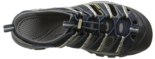 Appassionato Mens Newport H2 Sandal Midnight Navy / Feather Grey