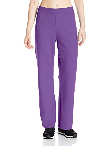 50 Outfits For Womens (Hanes Women's Petite-Length Middle Rise Sweatpants - X-Large - Violet Splendor Heather)