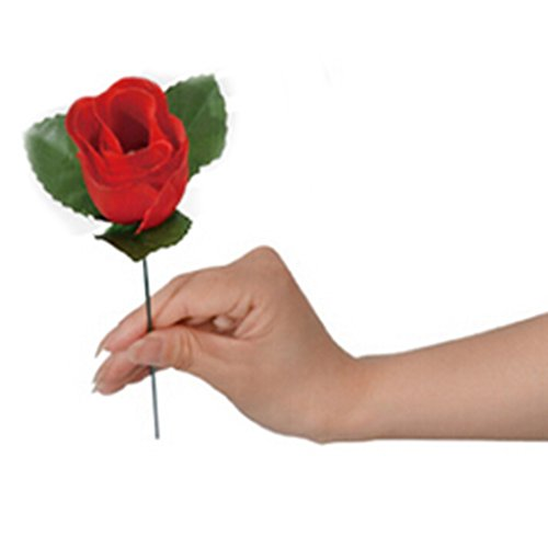 Stage Property Performance Show Magic Trick Fire To Red Rose Flower Lover's Gift (Red Roses For Lovers)