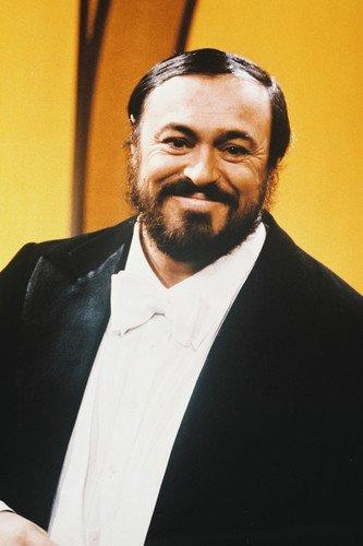 Moviestore Luciano Pavarotti 91x60cm Farb-Posterdruck