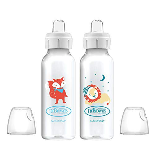 Dr. Brown's Options+ Sippy Spout Baby Bottles