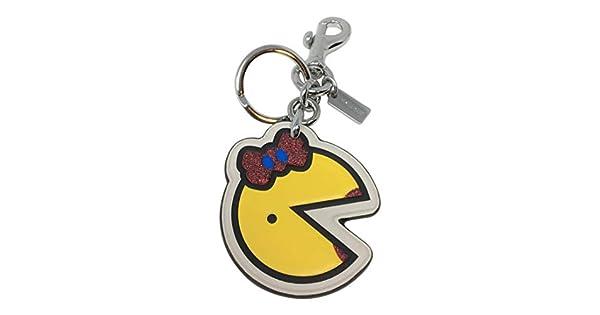 Amazon.com: Coach Ms Pac-Man - Llavero con colgantes, color ...