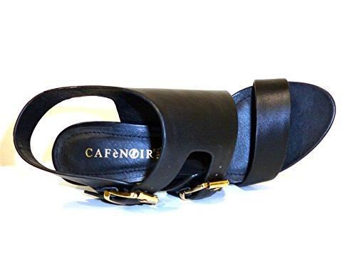 CafeNoir - Cafe Noir Sandalo Due Pezzi - MB151NERO - Color: Negro - Size: 40.0