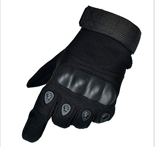 ZHOUXUELIMicrofiber Anti-Cutting and Sliding Sports Full Finger Gloves