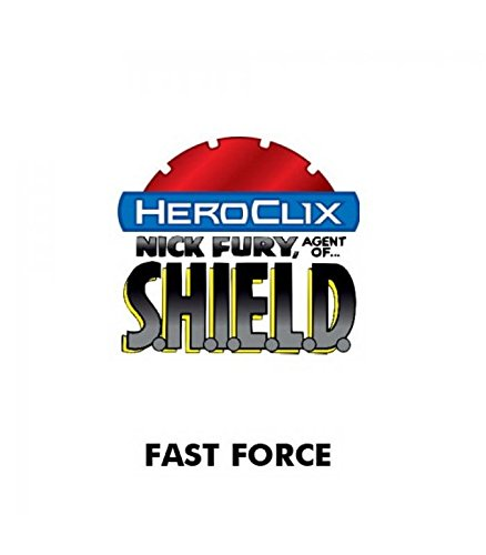 Heroclix Shield Marvel - Marvel Heroclix Nick Fury Agent Shield Fast Forces 6 Pk by WizKids