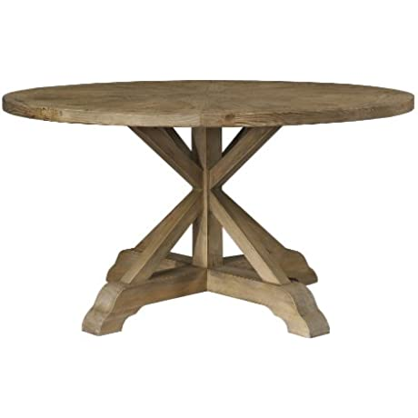 Padma S Plantataion Salvaged Wood Dining Table 60 Inch Round