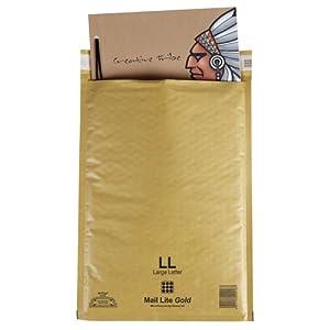 Mail Lite Sobres de correo medida de protección D/1, 180 x 260 mm, paquete de 10 unidades