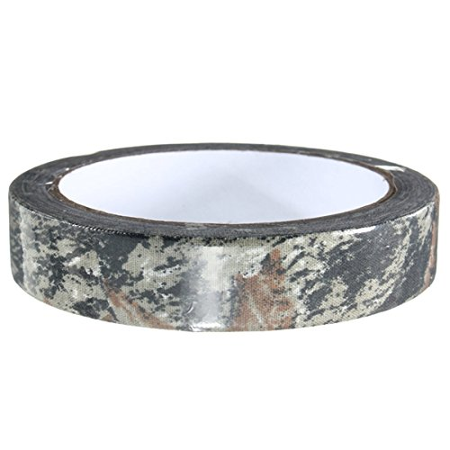 Tape Measuring Mag (Motorcycle Decals - 10m 2cm Camo Hunting Camping Camouflage Stealth Tape Motor Handlebar Decal - Cotton Wool Fabric Videotape Textile Magnetic Material Record Recording Measure Mag - 1PCs)