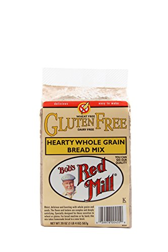Bob's Red Mill Gluten Free Hearty Whole Grain Bread Mix, 20-ounce (Pack of 4) by Bob's Red Mill (Image #2)