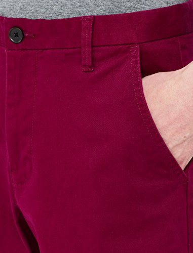 Cotone Regular beet Uomo Rosso In Meraki Pantaloni Fit Red wOqISHP
