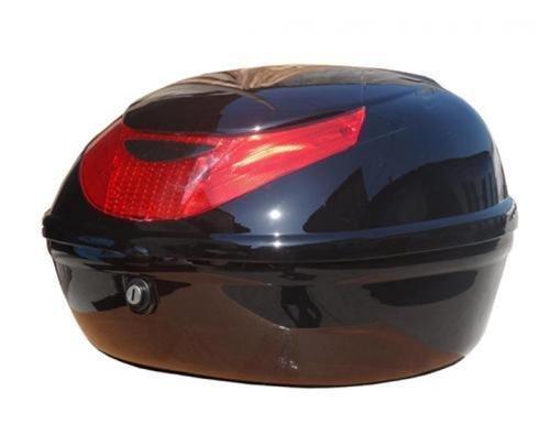 Motorradkoffer Top Case Roller / schwarz / 39x42x29 cm / neuwertig C86