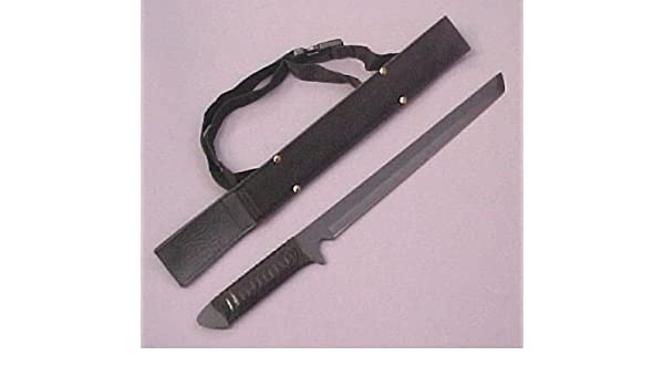 Amazon.com : Dark Ninja Stealth Sword w/ Backstrap 18 ...