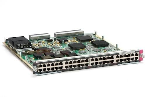 Cisco Catalyst 6500 Series 48 Port Gigabit Switching Module - Lifetime