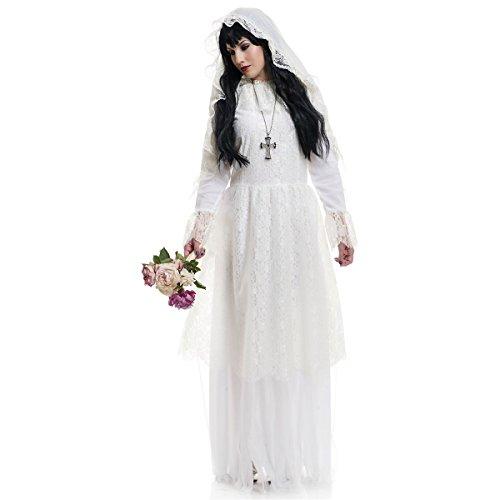 [GSG Nightshade Gown Costume Adult Halloween Fancy Dress] (Gothic Ballerina Halloween Costumes)
