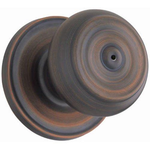 - WEISER Lock GA331 P11P MS 6LR1 Phoenix Privacy Knob, Bronze