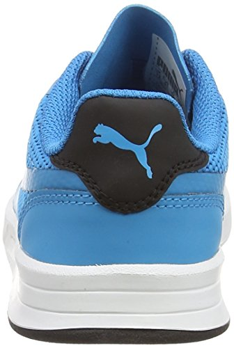 Niños Junior Zapatilla black blue Puma Evo Icra Baja Unisex Azul W4wWYRqZx