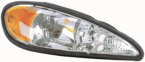 Fits 99 00 01 02 03 04 05 Pontiac Grand Am Headlight Passenger Headlamp Front (Grand Am Headlight Lamp)