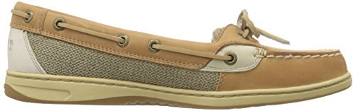 Sperry Top-sider Womens Angelfish 2-eye Mocassino Slip-on Fodera Lino / Avena