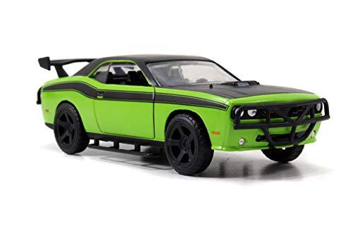 Jada Toys Ff 1 32 Dodge Challenger Diecast Vehicle Green Buy