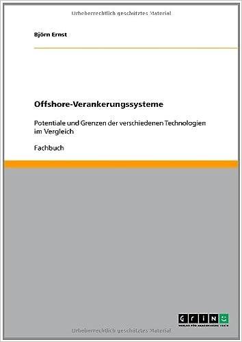 Book Offshore-Verankerungssysteme