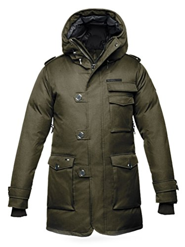 Nobis Shelby Peacoat Army Green-M