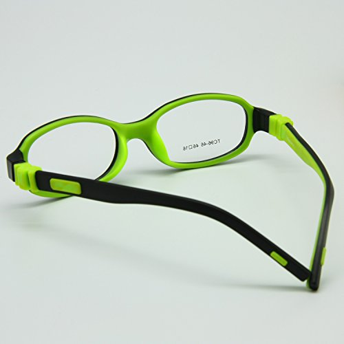 5619d8a407 EnzoDate Kids Optical Eyeglasses Size 46 16 No Screw Bendable