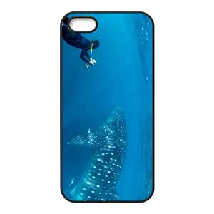 Amazing Rhincodon typus Hight Quality Plastic Case for Iphone 5s by icecream design