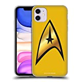 Official Star Trek Command Solo Uniforms and Badges TOS Soft Gel Case Compatible for iPhone 11