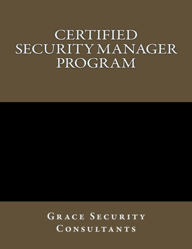 Certified Security Manager Training Program